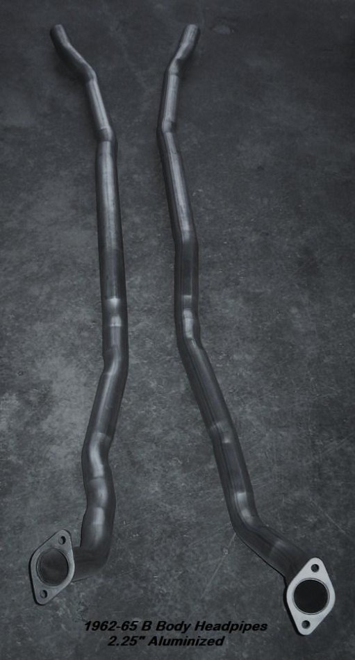 B-Body Big Block Headpipes (one pair) 1962-74
