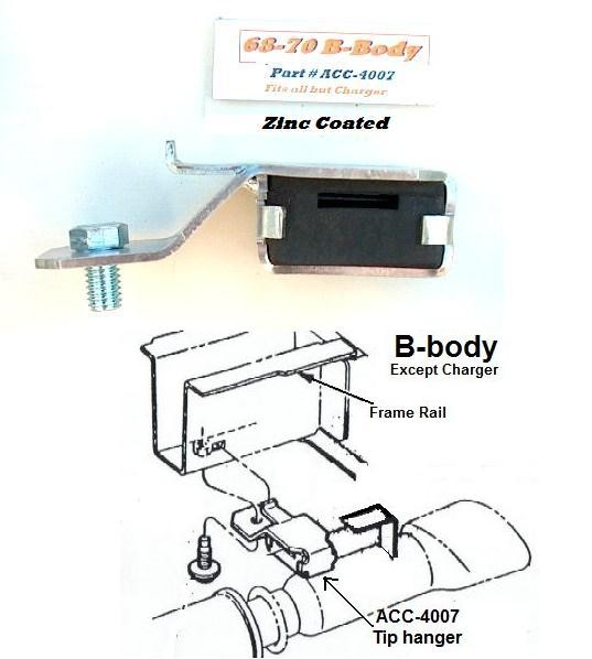 Tip Hangers, B-body, 68-70 (Pair) (ACC-4007)