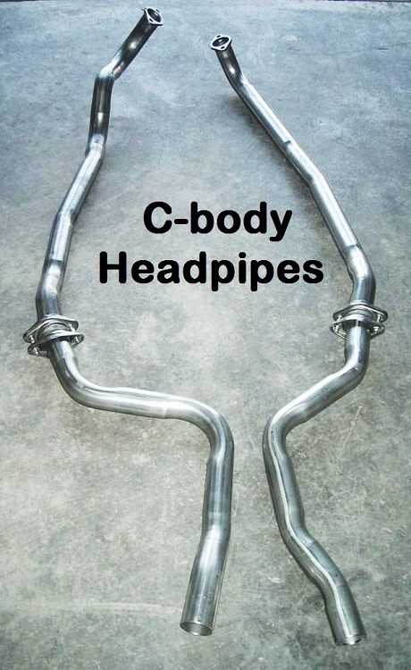 PAIR C-Body Headpipes