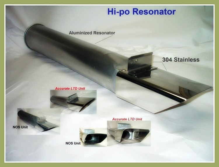 Hi-Po Resonator Tip Assembly