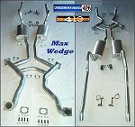 1962-65 Max Wedge Complete Exhaust System
