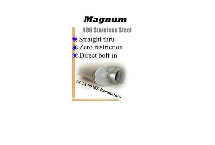 Magnum Series Resonators E-body PAIR