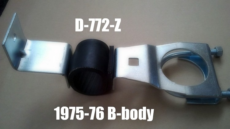 1975-76 B-body Hanger, Right side. Note:   Soon to be discontinued