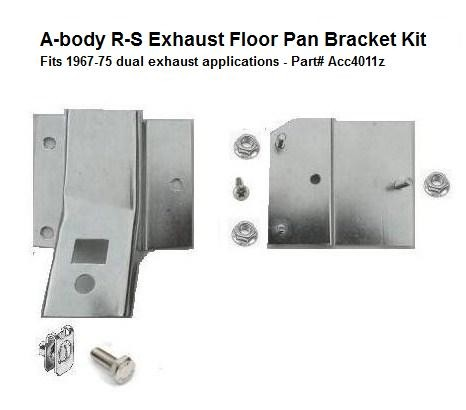 Acc4011z  67-75 A-body Right Side