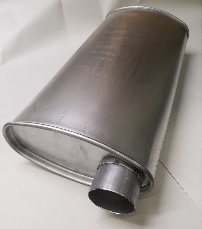 A Body Factory Style Replacement Muffler