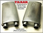 TA / AAR High Flow Mufflers (Pair)